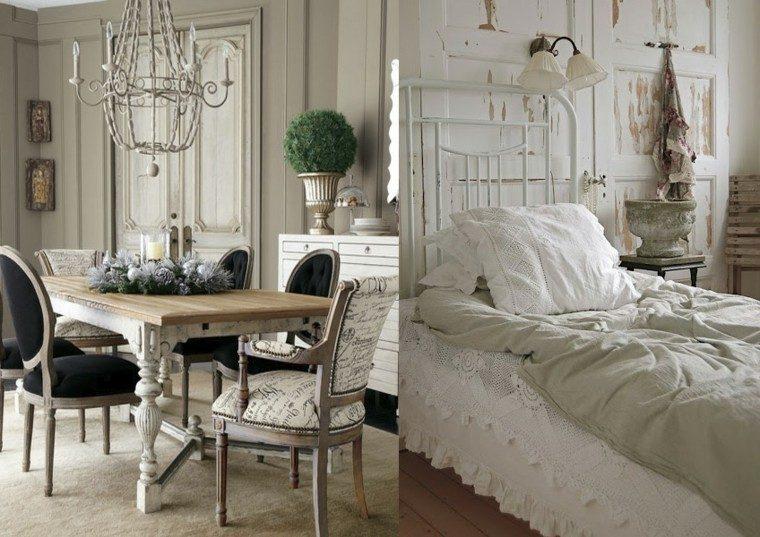 elegir shabby chic comedor dormitorio moderno ideas