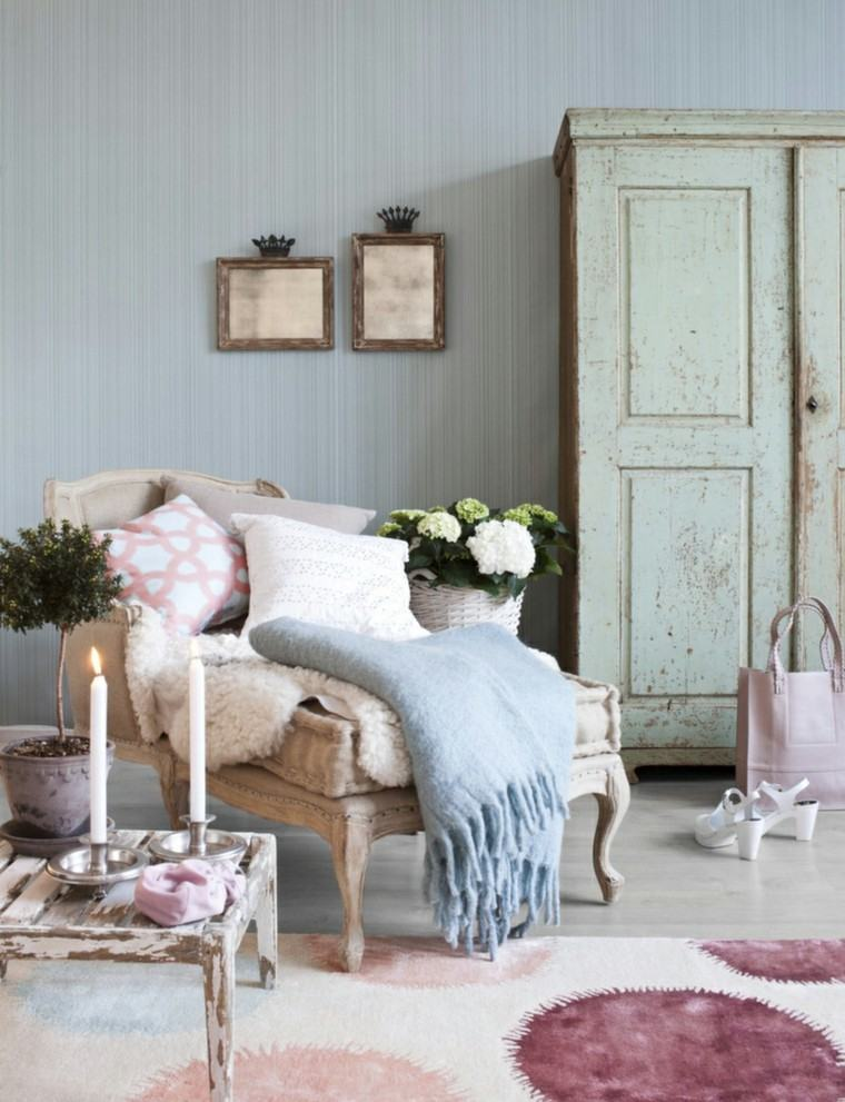 elegir shabby chic muebles interior decoraciones ideas