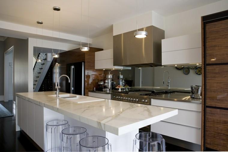 Encimeras de cocina de m rmol elegancia y estilo atemporal for Encimera cocina marmol o granito