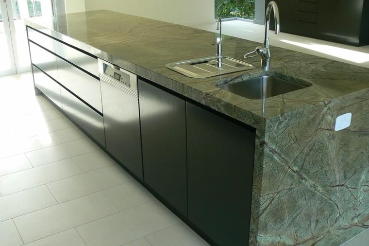 Encimeras de cocina de m rmol elegancia y estilo atemporal for Encimeras de marmol