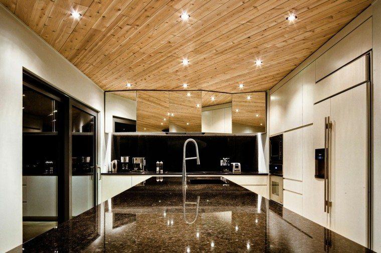 encimeras de cocina moderna elegante brillante moderna