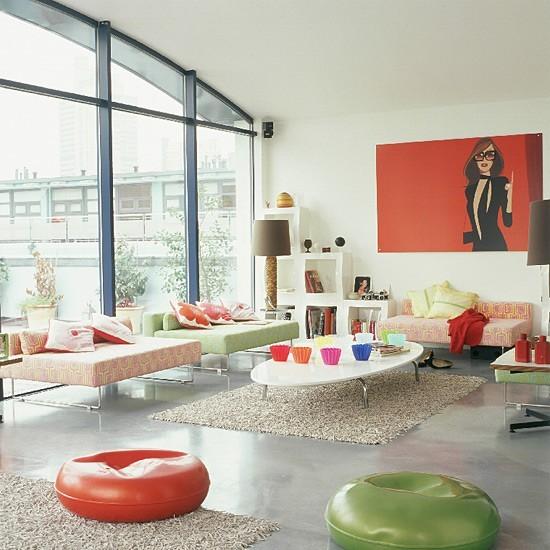 entretenimiento diversion salon muebles colores ideas