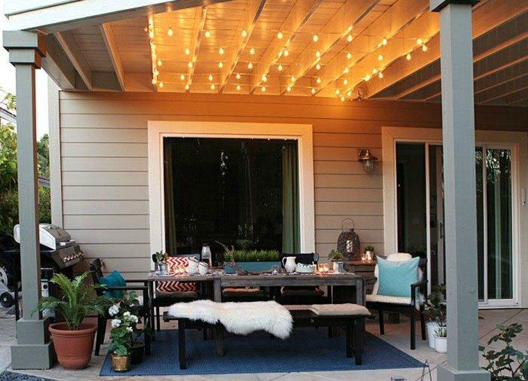 entretenimineto mesa diseño decoracion bombillas