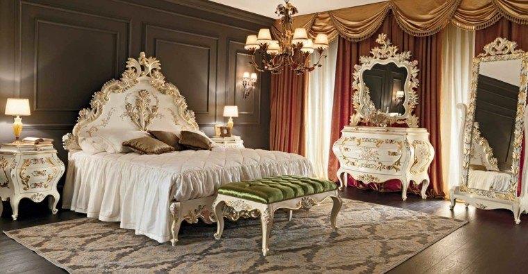 Poca victoriana muebles con fantas a rom ntica - Dormitorio barroco ...