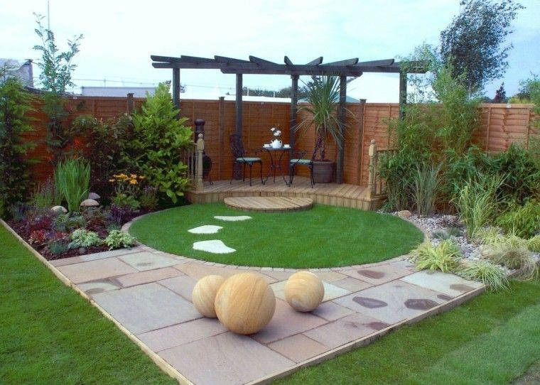 Decoracion exteriores patios dise os arquitect nicos for Decorar patios grandes