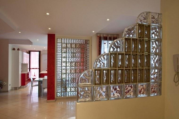 espacios divididos paredes cristal ideas preciosas casa moderna