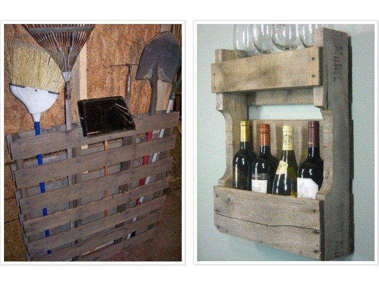 estante patio botella herramientas funcional