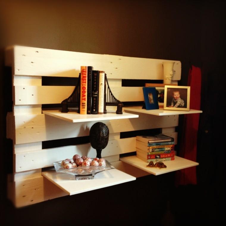 Muebles hechos con palets 100 ideas para el hogar - Cuadros con palets ...