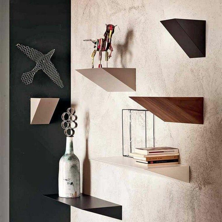 estanterias soporte libros decoracio salon diseno Fabio Bortolami modeno