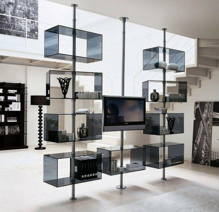 Muebles de salon modernos y funcionales menos es m s for Fotos de muebles de salon