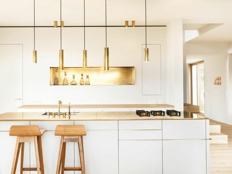 estilo minimalista cocina estilo escandinavo isla ideas
