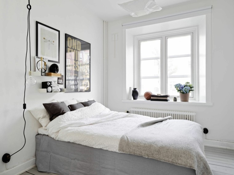 estilo minimalista tradicional dormitorio diseno escandinavo moderno