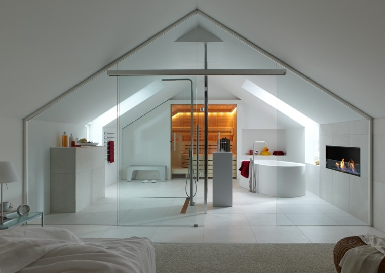 estilo moderno diseño cabina spa