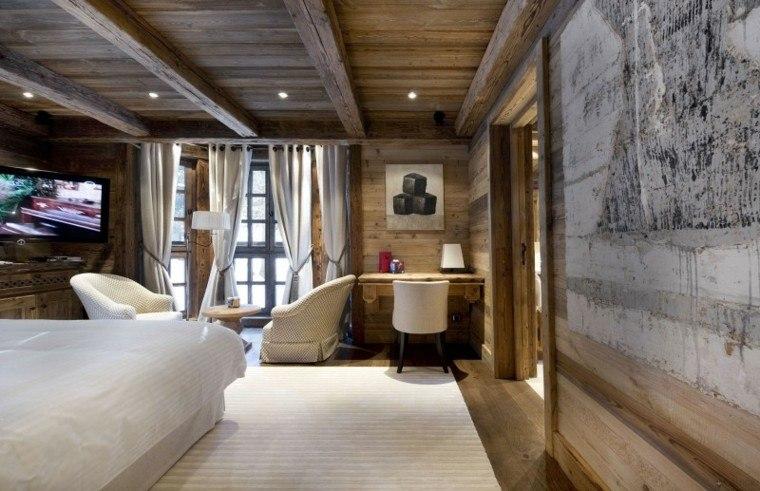 diseño moderno techos de madera