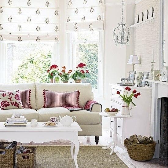 estilo shabby chic femenino blanco flores moderno ideas