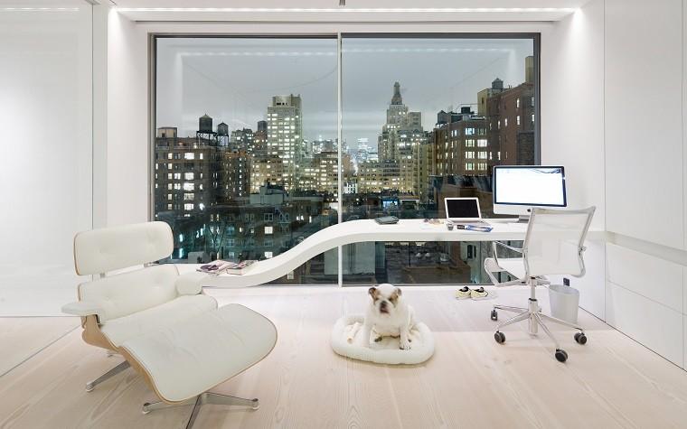 estudio oficina escandinavo futurista