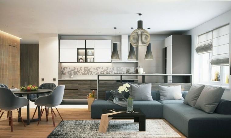 estudios lofts diseño moderno sofa