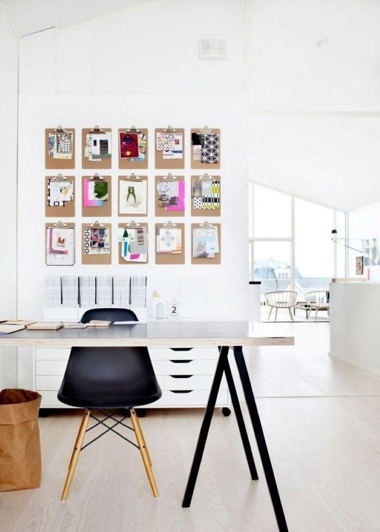 estudios oficinas deco estilo escandinavo