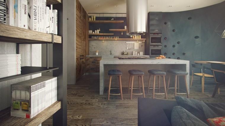 estudios piso soltero estilo moderno