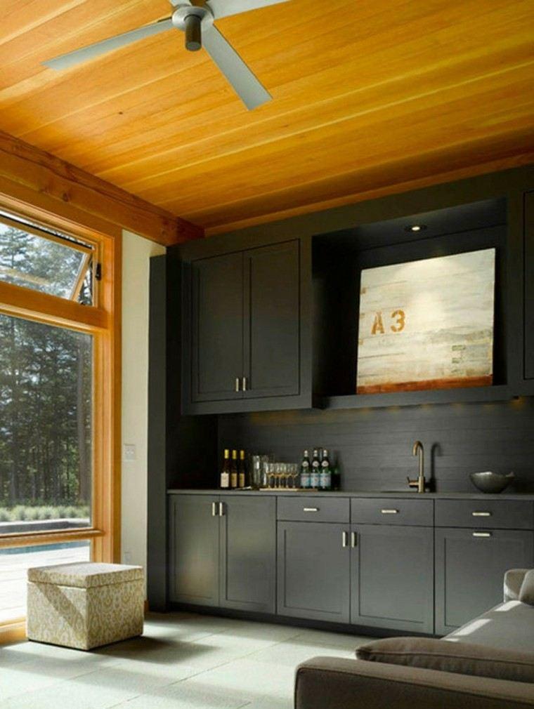 Techos de madera - cincuenta ideas modernas