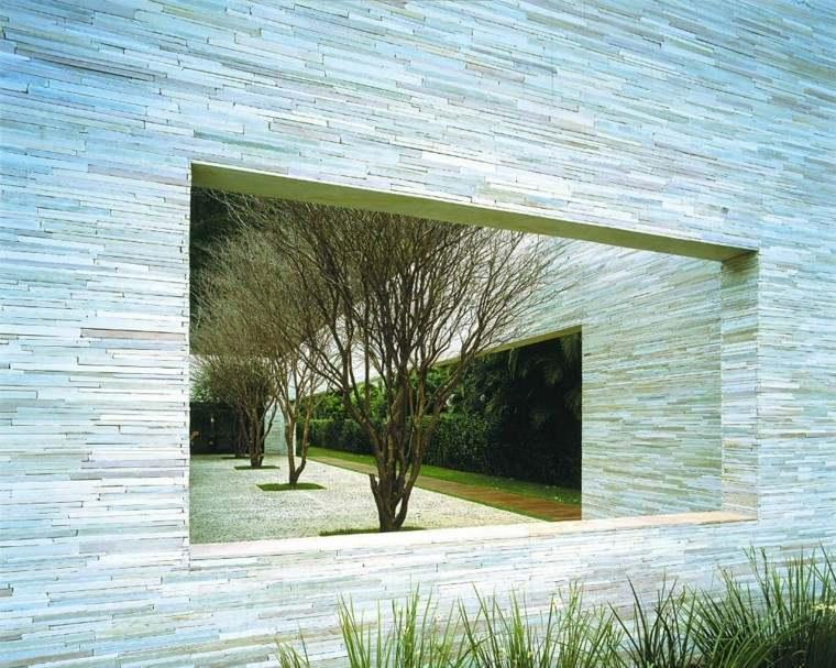 estupendas paredes jardin muros piedra