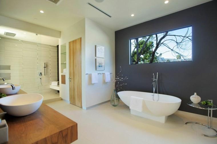 estupendo baño estilo moderno bañera