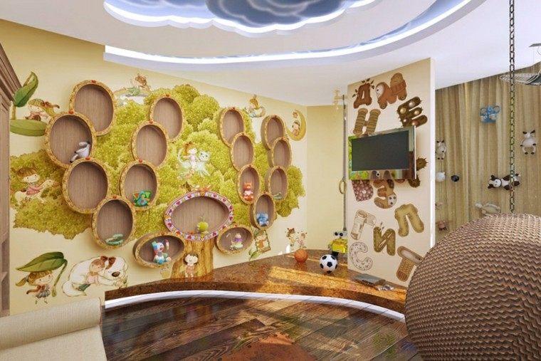 estupendo cuarto infantil bola colgante