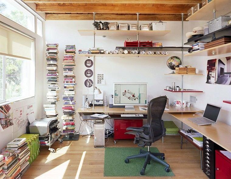 estupendo despacho diseño estilo escandinavo