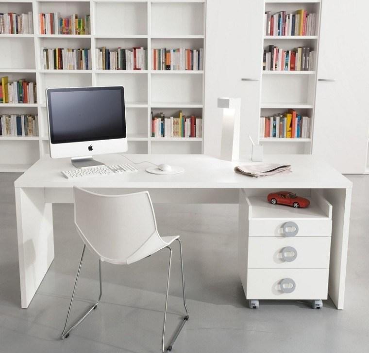 estupendo estudio diseño todo blanco