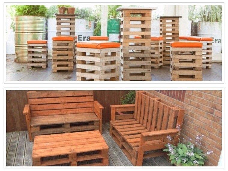 Ideas con palets 75 creaciones para personalizar tu espacio - Jardineras con palets de madera ...
