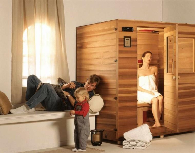 Sauna y centro de spa personalizado en su propia casa - Madera para sauna ...