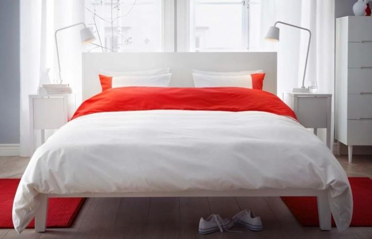 Fantas a y modernidad 50 ideas para el dormitorio - Cojines grandes cama ...
