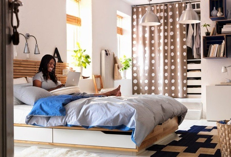 Fantas a y modernidad 50 ideas para el dormitorio - Decorar habitacion rustica ...