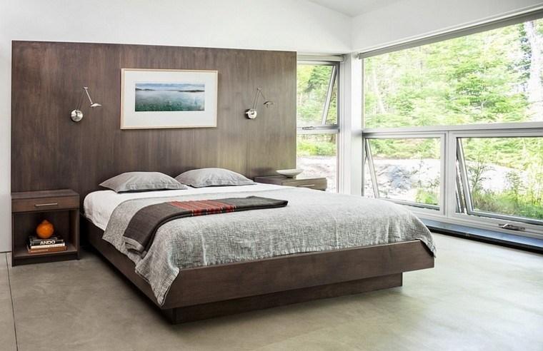 Fantas a y modernidad 50 ideas para el dormitorio for Diseno de habitacion de estilo contemporaneo