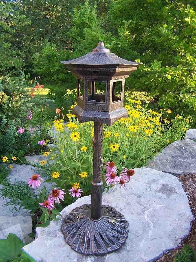 Accesorios jardin adornos muebles y luces de exterior for Farol exterior de pared