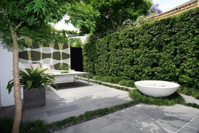 fountain stone shape bathtub garden