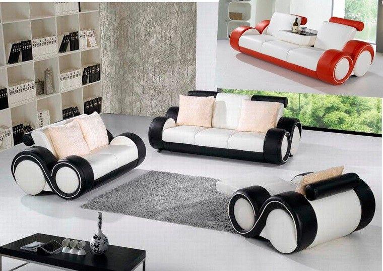 futurista redondo sofa creativo cojines