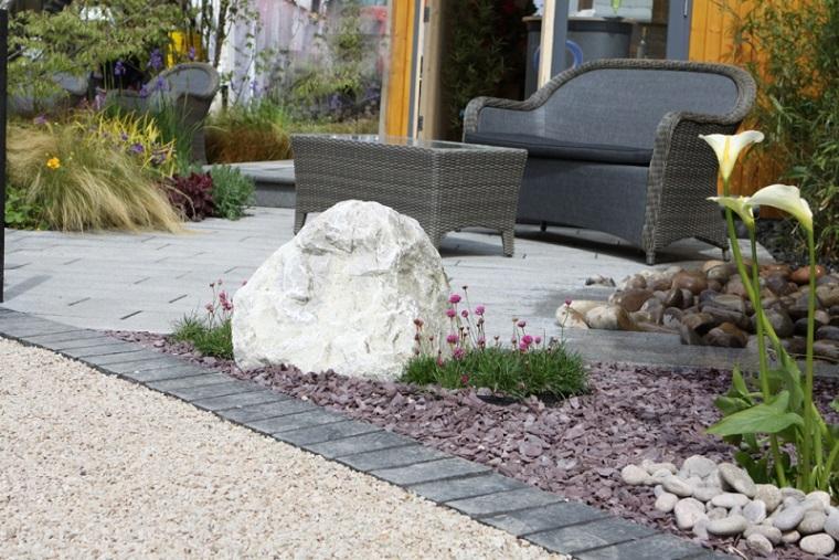 Las arenas y gravillas m s adecuadas para decorar jardines for Decoracion jardin grava