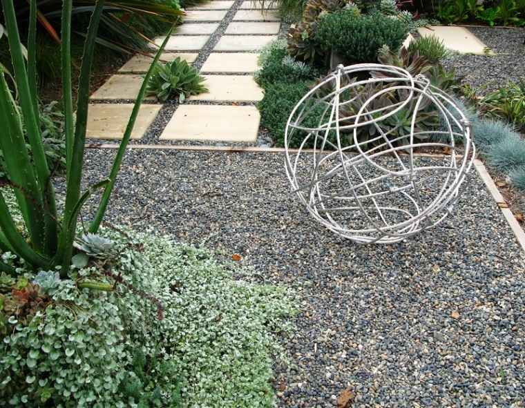 Las arenas y gravillas m s adecuadas para decorar jardines for Jardines con piedra cuarzo