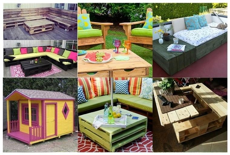 ideas con palets diy patio diseos