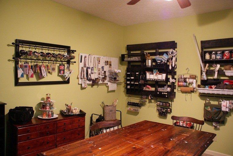 Ideas con palets 75 creaciones para personalizar tu espacio for Muebles de cocina con palets