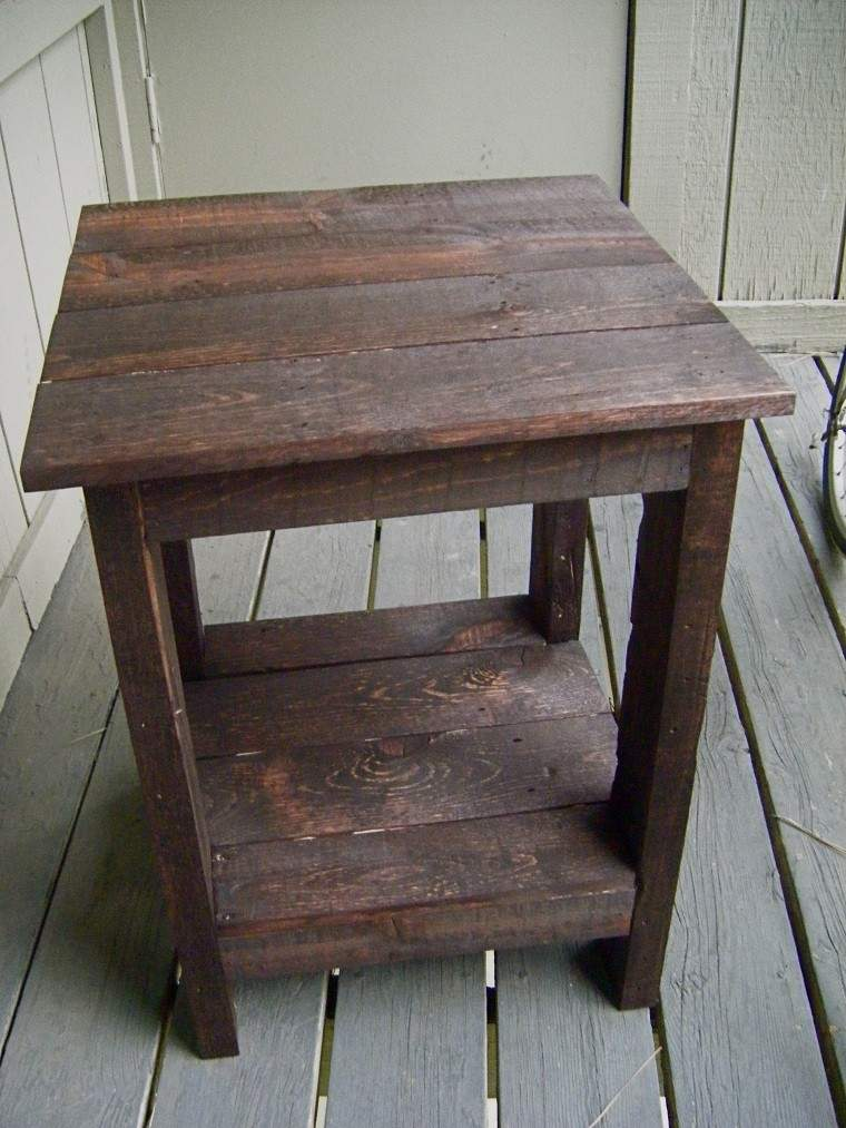 Mesas hechas con palets de madera gallery of artilujos - Mesa de palets ...