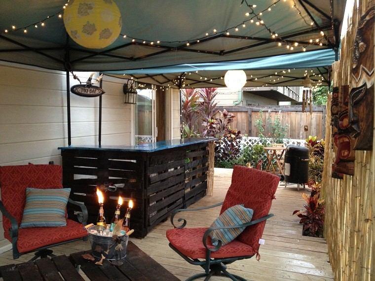Patio bar ideas joy studio design gallery best design - Ideas con pallets ...