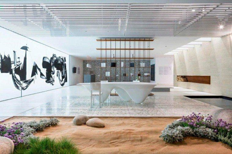 ideas decoración jardin zen interior tranquilo relajante moderno