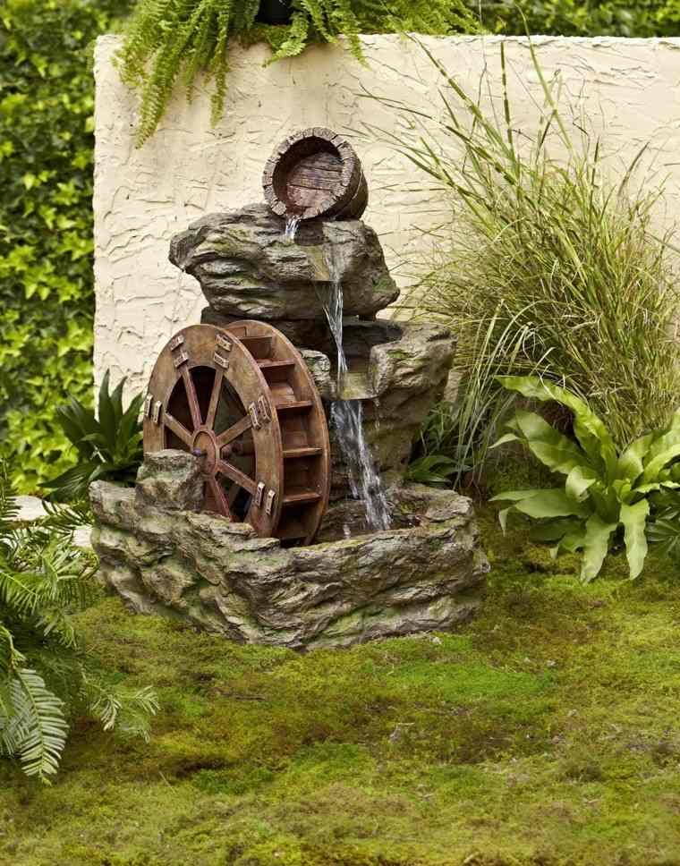 ideas decoraciones jardin agua tranquliza relaja ideas