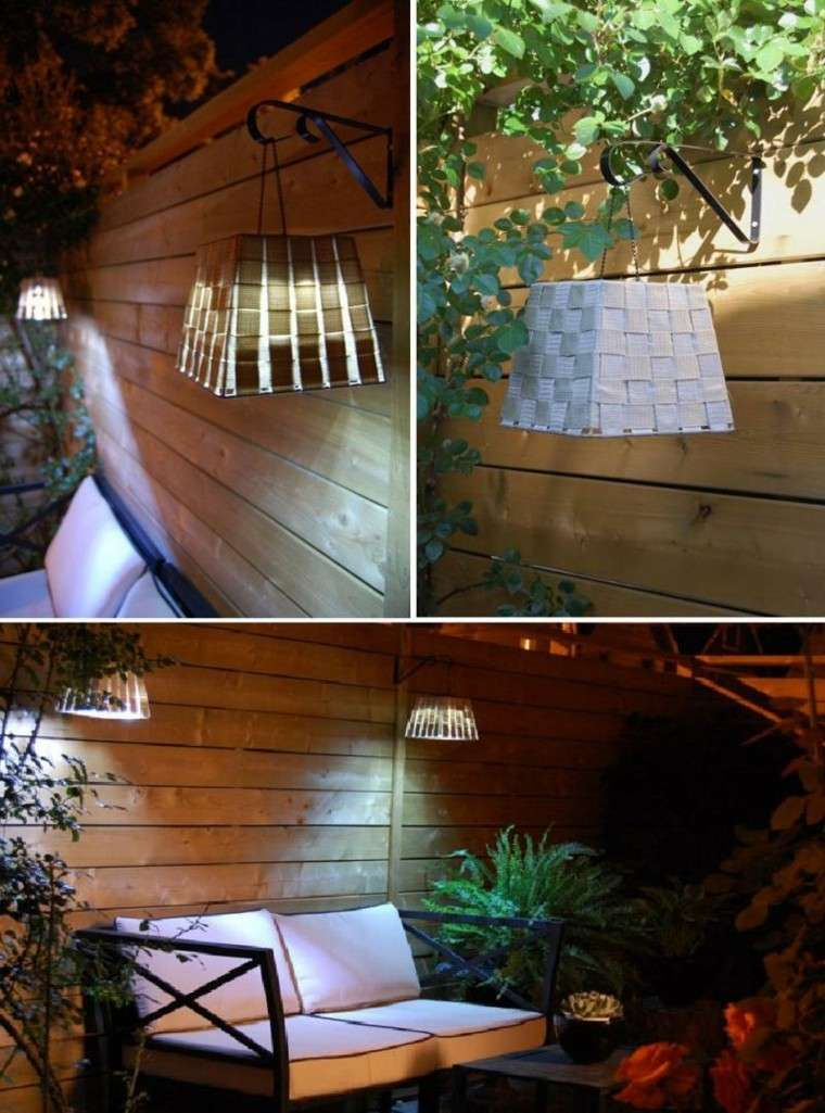 Famoso luces patio exterior motivo ideas de decoraci n for Luces decoracion exterior