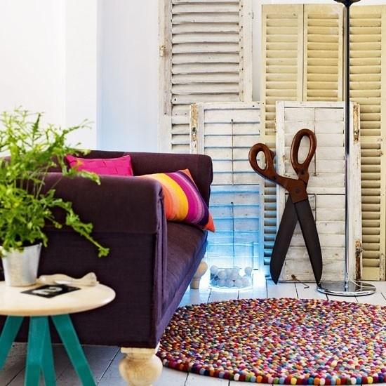 ideas interesantes decoracion salon moderno persianas bonito