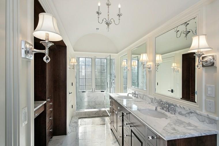 ideas marmol bano estilo elegantes precioso modernas