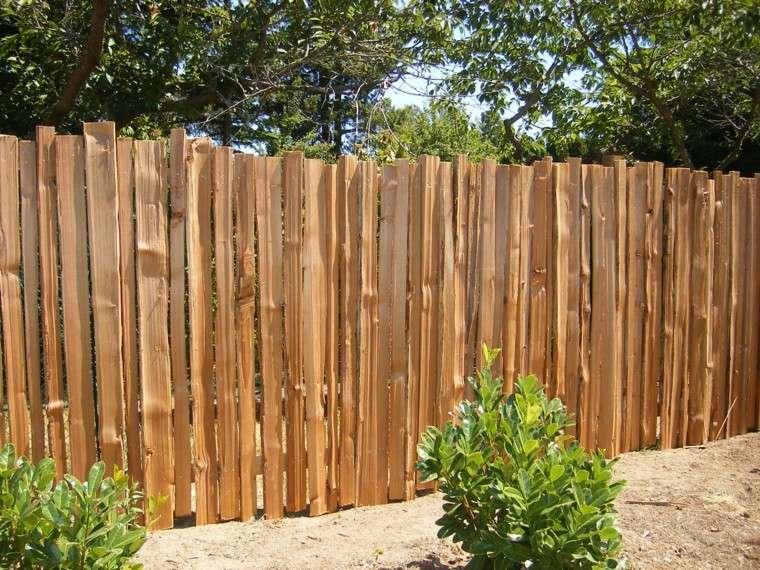 vallas de madera y vallas met licas para el jard n