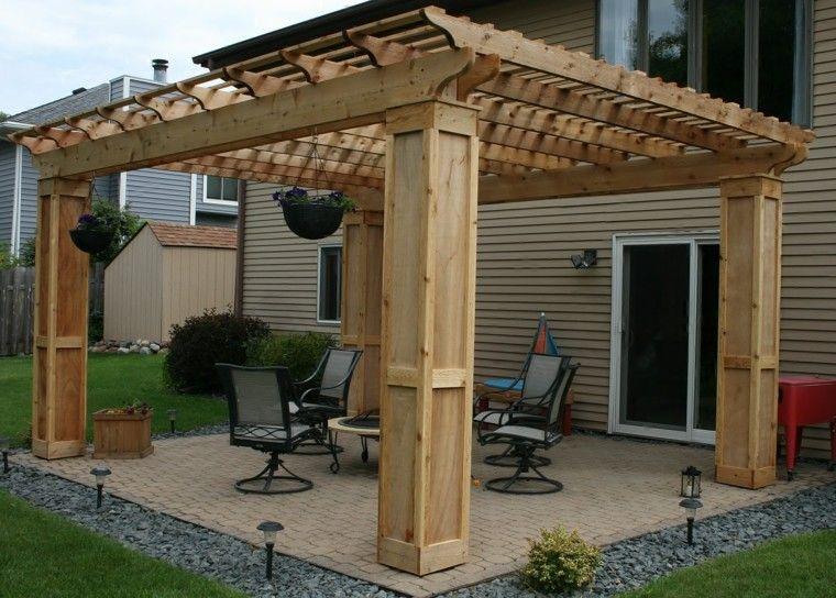 Ideas para terrazas patios o balcones acogedores for Terrazas rusticas en madera